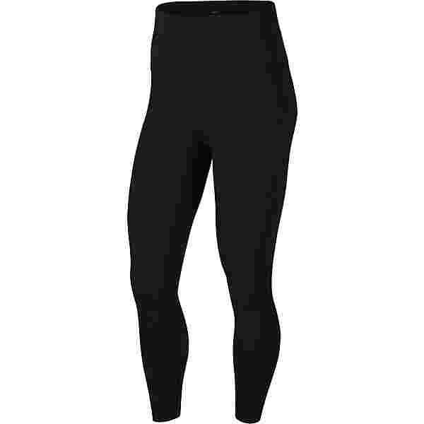Nike YOGA LUXE Tights Damen black-dk smoke grey