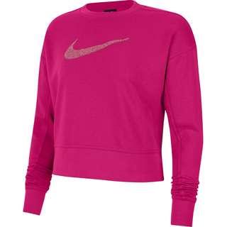 Nike DRI-FIT GET FIT Funktionssweatshirt Damen fireberry-sweet beet