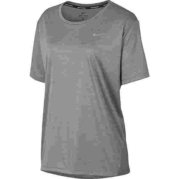 Nike PLUS SIZE Funktionsshirt Damen gunsmoke-atmosphere grey-reflective silv