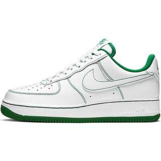Nike Air Force 1 ´07 Sneaker Herren white-white-pine green