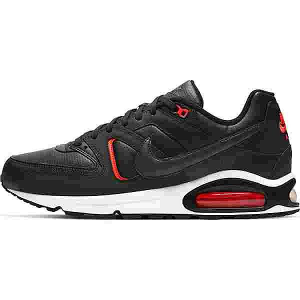 Nike Air Max Command Sneaker Herren black-dk smoke grey-bright crimson-white