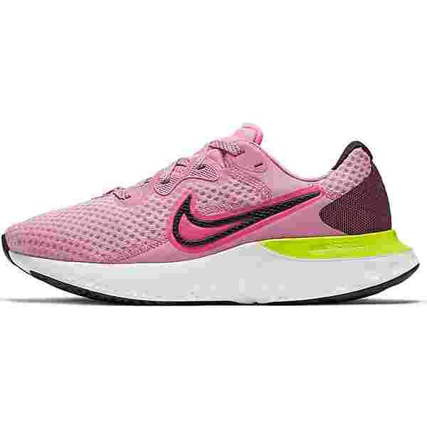 Nike Renew Run 2 Laufschuhe Damen elemental pink-sunset pulse-black-cyber