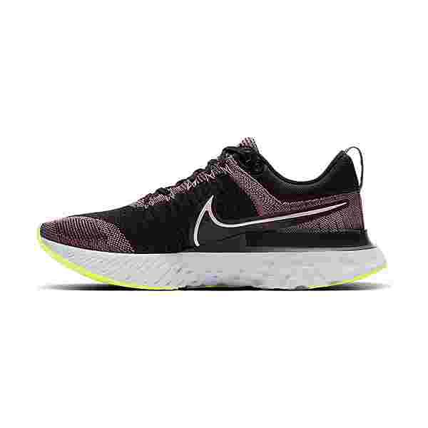 Nike React Infinity Run Flyknit 2 Laufschuhe Damen violet dust-elemental pink-black-cyber