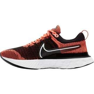 Nike React Infinity Run Flyknit 2 Laufschuhe Damen BRIGHT MANGO-WHITE-BLACK