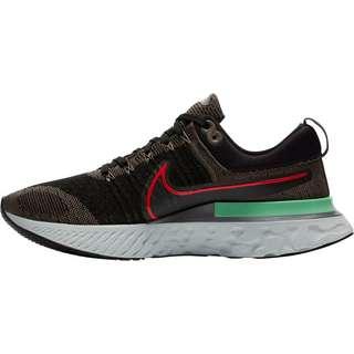 Nike REACT INFINITY RUN FK 2 Laufschuhe Herren ridgerock-chile red-black-green glow-photon dust
