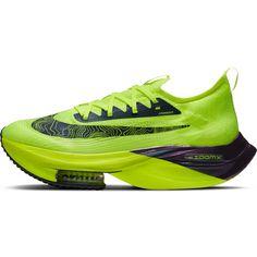 Nike ALPHAFLY NEXT% Laufschuhe Herren volt-black-racer blue-multi-color-white
