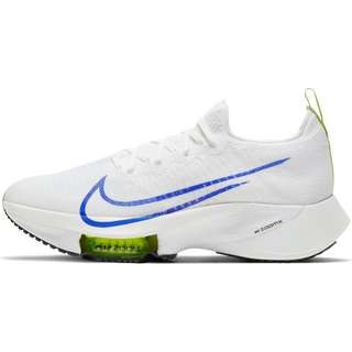 Nike AIR ZOOM TEMPO NEXT% Laufschuhe Herren white-racer blue-volt-black