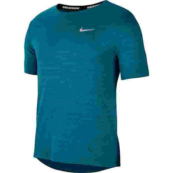 Nike Miler Funktionsshirt Herren blustery-reflective silv