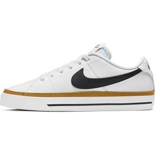 Nike Court Legacy Sneaker Damen white-black-desert ochre