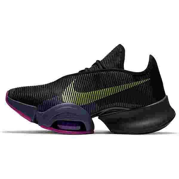 Nike AIR ZOOM SUPERREP 2 Fitnessschuhe Damen black-cyber-red plum-sapphire