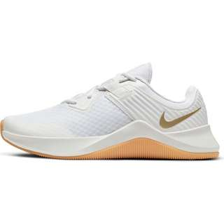 Nike MC Trainer Fitnessschuhe Damen white-mtlc gold star-platinum tint
