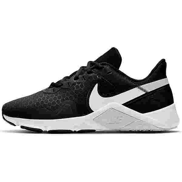 Nike Legend Essential 2 Fitnessschuhe Damen black-white-pure platinum