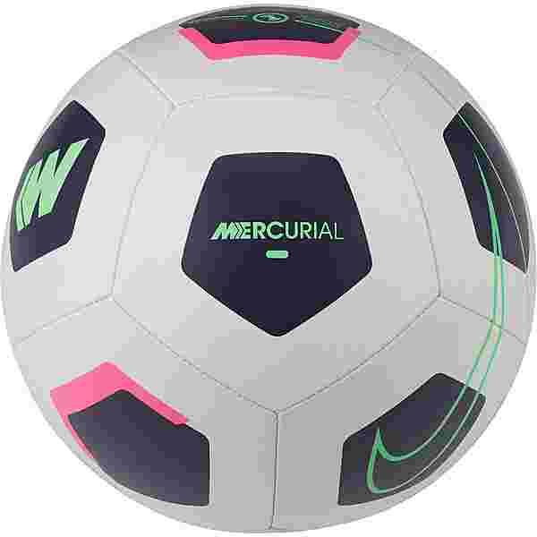 Nike Mercurial Fade Fußball platinum tint-dark raisin-rage green