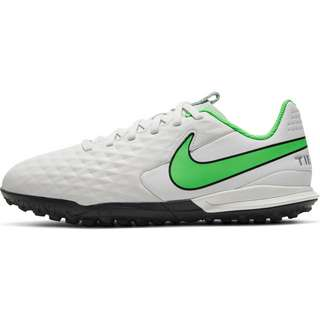 Nike Jr. Tiempo Legend 8 Academy TF Fußballschuhe Kinder platinum tint-rage green