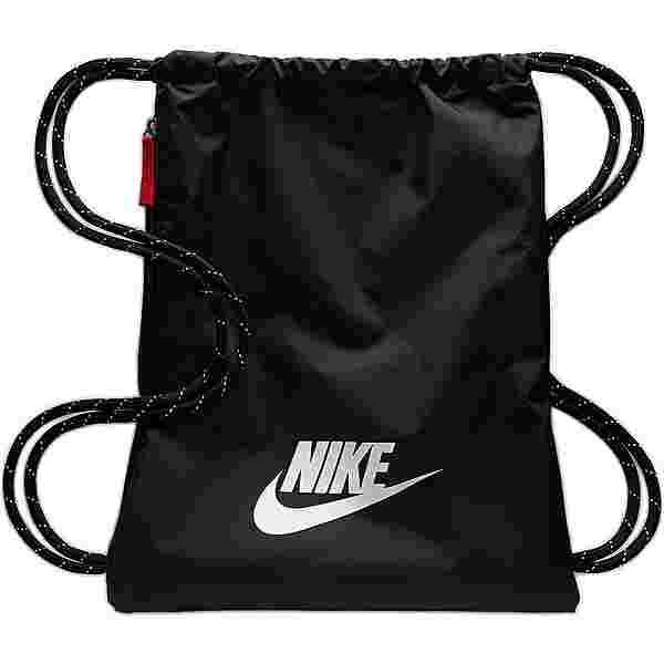 Nike Heritage 2.0 Turnbeutel black-black-white