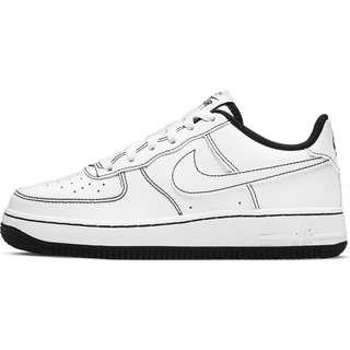 Nike AIR FORCE 1 (GS) Sneaker Kinder white/white-black