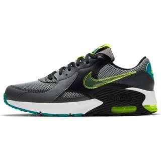 Nike AIR MAX EXCEE POWER UP Sneaker Kinder particle grey/cyber-iron grey-black