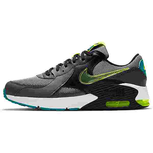 Nike AIR MAX EXCEE POWER UP Sneaker Kinder particle grey-cyber-iron grey-black