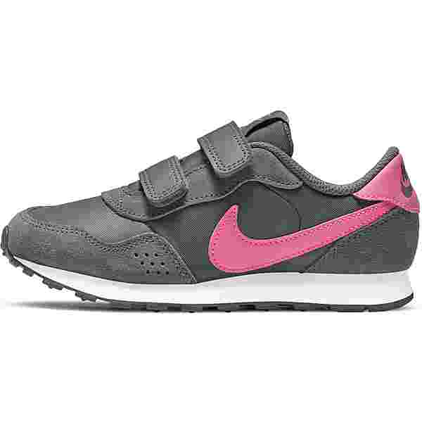 Nike MD VALIANT Sneaker Kinder smoke grey/pink glow-white