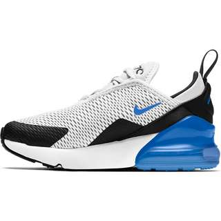 Nike AIR MAX 270 Sneaker Kinder white/signal blue-black
