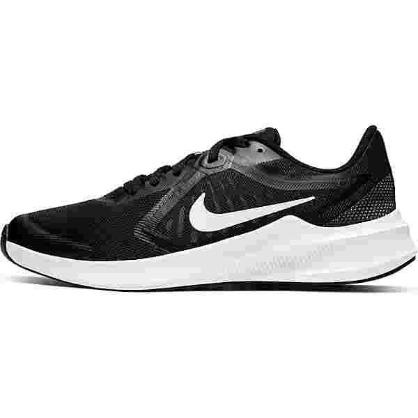 Nike DOWNSHIFTER 10 Laufschuhe Kinder black-white-anthracite