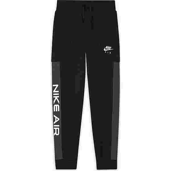 Nike NSW AIR Sweathose Kinder black-dk smoke grey-white