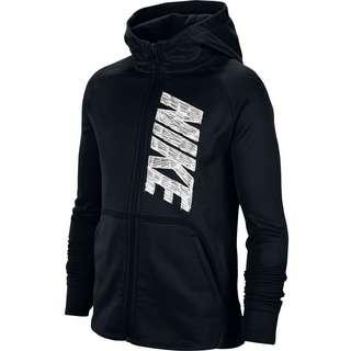 Nike THERMA GFX Kapuzenjacke Kinder black-white
