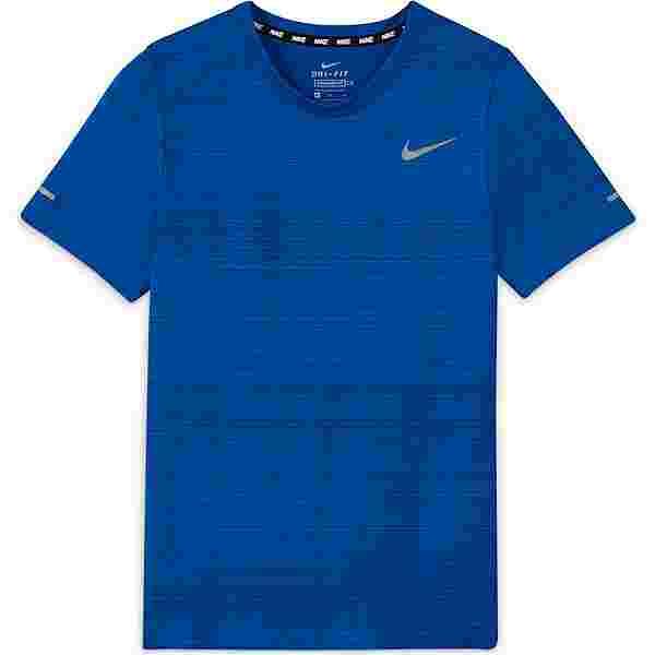 Nike Dri-Fit Miler Funktionsshirt Kinder game royal