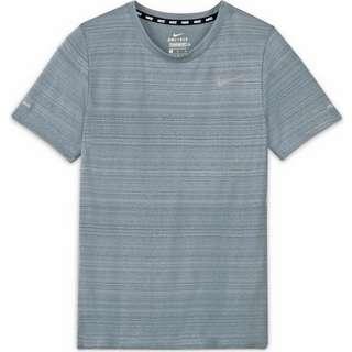 Nike Dri-Fit Miler Funktionsshirt Kinder smoke grey
