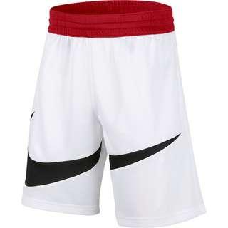 Nike DRI-FIT BBALL Shorts Kinder white/university red/black