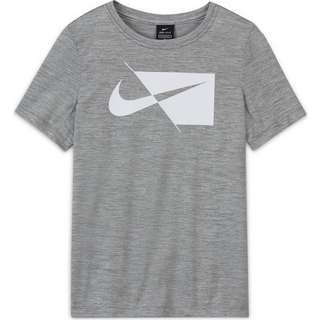 Nike Funktionsshirt Kinder smoke grey/white