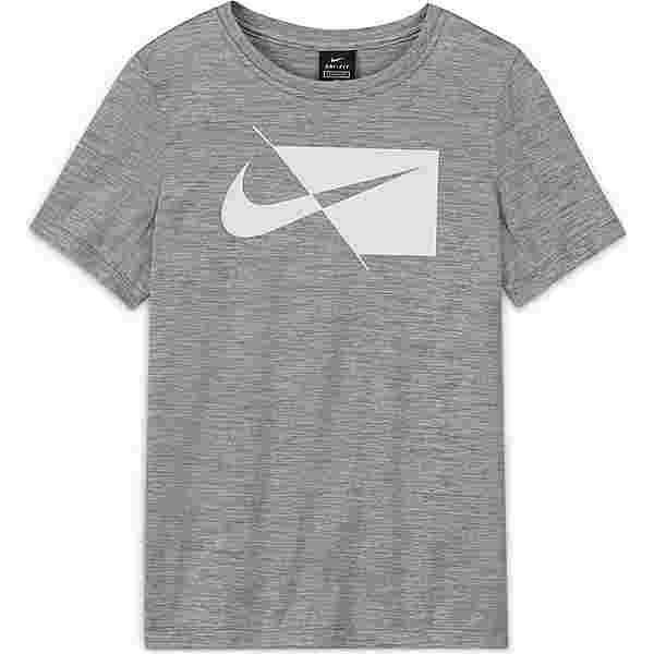 Nike DRI-FIT Funktionsshirt Kinder smoke grey/white