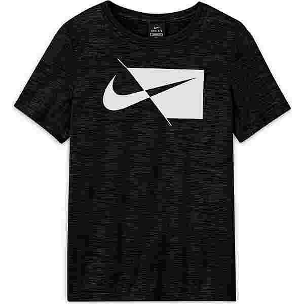 Nike DRI-FIT Funktionsshirt Kinder black-white