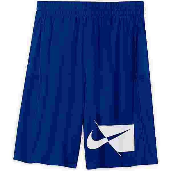 Nike DRY HBR Shorts Kinder game royal-white