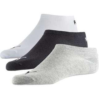 PUMA INVISIBLE Socken Pack Kinder grey-white-black