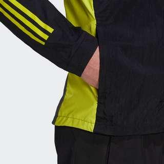 adidas Trainingsjacke Outdoorjacke Herren Black / Grey Five / Acid Yellow