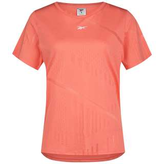 Reebok BURNOUT ONE SERIES Funktionsshirt Damen twisted coral