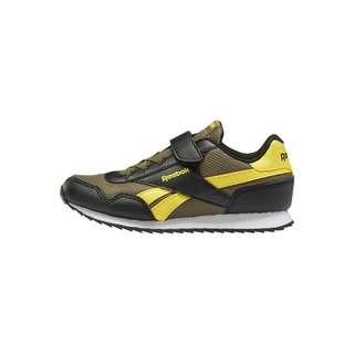 Reebok Reebok Royal Classic Jogger 3 Shoes Sneaker Kinder Army Green / Black / Alert Yellow