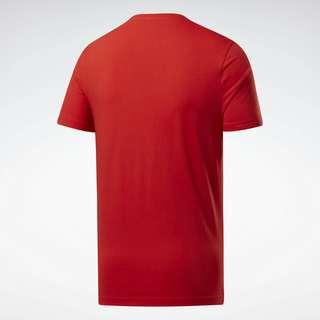 Reebok Graphic Series Linear Logo T-Shirt Funktionsshirt Herren Rot