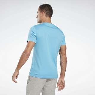 Reebok Graphic Series Linear Logo T-Shirt Funktionsshirt Herren Türkis