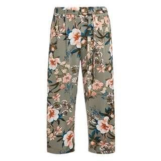 Lascana Culotte Damen khaki-bedruckt