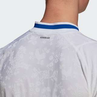 adidas Frankreich Handballtrikot Funktionsshirt Herren White / Royal Blue