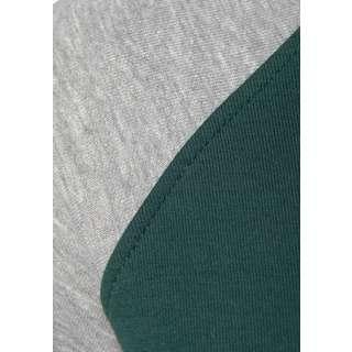 Bench Langarmkleid Damen dunkelgrün-grau