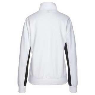 Bench Sweatshirt Damen weiß-schwarz