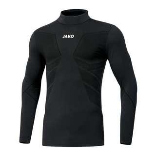JAKO Comfort 2.0 Turtleneck Funktionsshirt schwarz