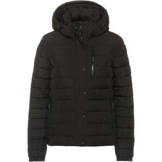 Superdry Fuji Steppjacke Damen black