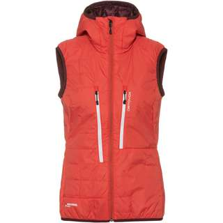 ORTOVOX SWISSWOOL PIZ BOÈ Outdoorweste Damen blush