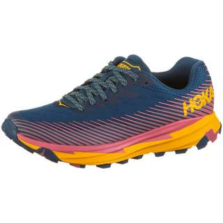 Hoka One One TORRENT 2 Laufschuhe Damen moroccanblue-saffron