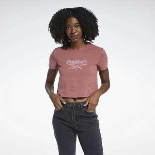 Reebok Classics Foundation Big Logo T-Shirt T-Shirt Damen Rot