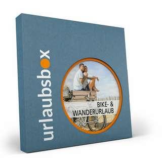 Urlaubsbox Bike- & Wanderurlaub Geschenkbox grau